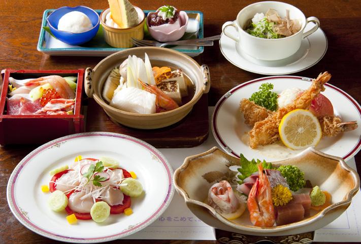 旬肴旬菜 花いおり|横浜・綱島の懐石料理